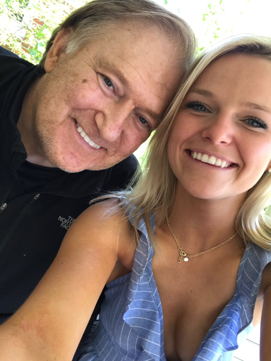 Photo of Bob Beckel  & his  Daughter  McKenzie Beckel