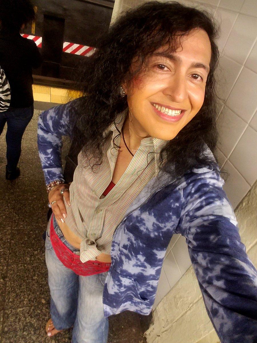 f3d87e877c5e Sexy woman wearing thong panties over my tight #jeans showing #boricua pride  in #NYC #mta #6train #rtrain #ntrain #4train #qtrain #1train #unionsquare  ...