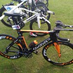 Course recce and racking done for tomorrows @BritTri Standard Distance champs @WorldTriLeeds #TORQFuelled