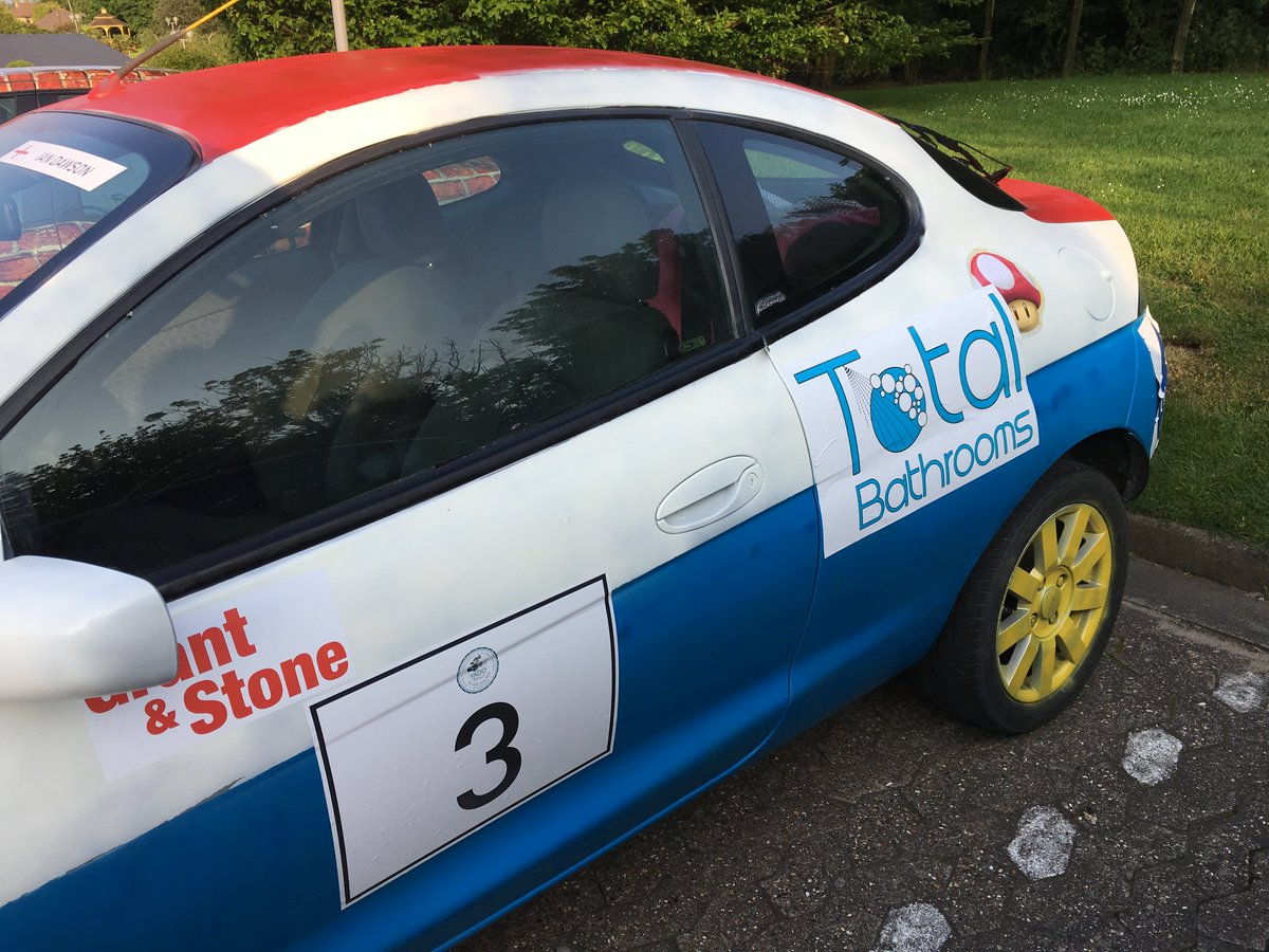 test Twitter Media - With the @F1 Canadian Gran Prix and also the Total Bathrooms @VADO_uk sponsored rally car, this weekend is full of exciting motoring! https://t.co/wzNd1EQh2P