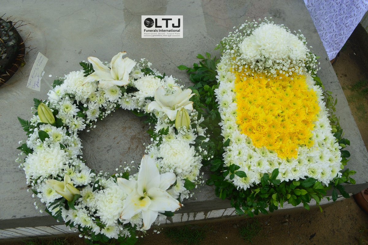Ltj funerals international flowers say much more than ltj funerals international flowers say much more than words can describe here is a round and square shaped wreath for the funeral of elder izmirmasajfo