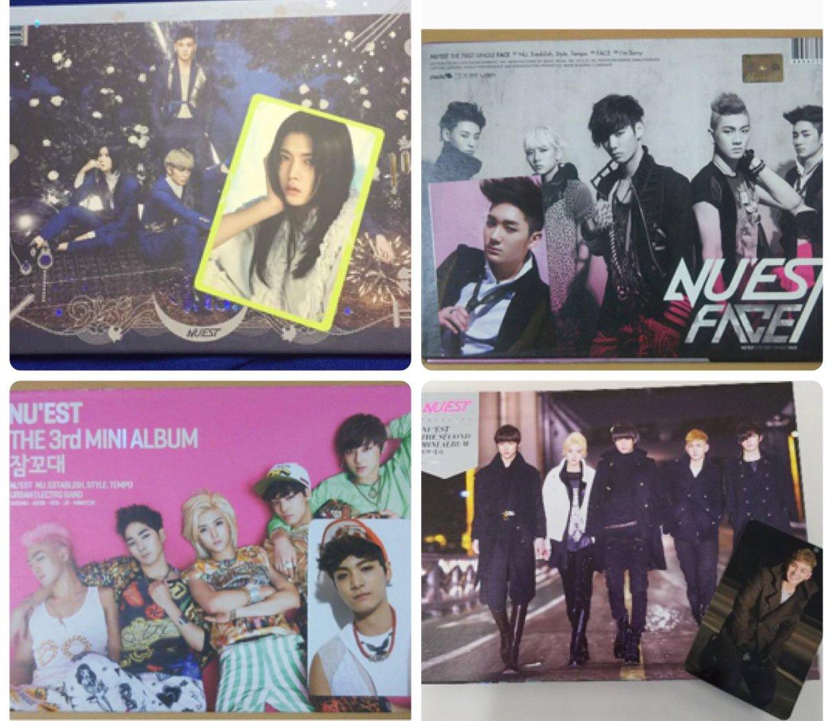 CD+Photobook+Photocard+Free Gift WAKE NUEST W N 2 ver.