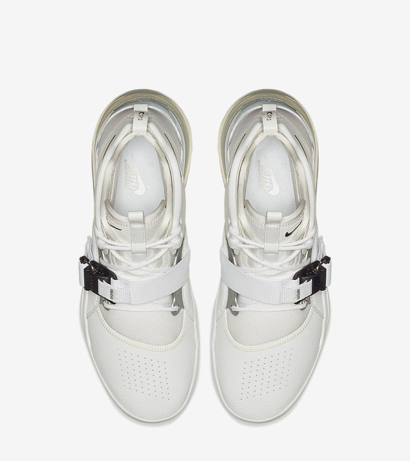 online store 204e7 f4706 LIVE via  Eastbay Nike Air Force 270  White Metallic Silver      http   bit.ly 2sRVqIL pic.twitter.com z5eY5OwMc9