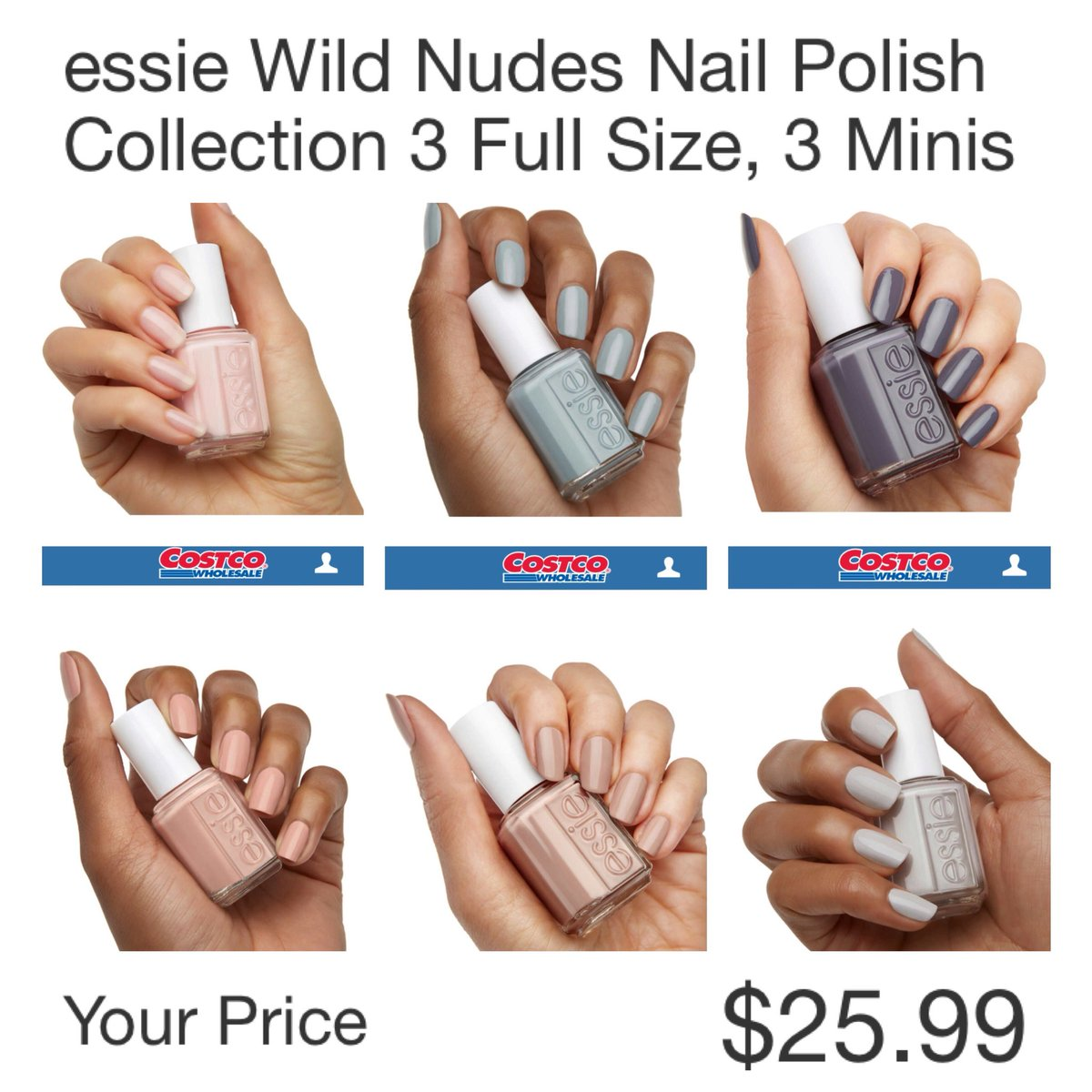 Thecostcoconnoisseur On Twitter Essie Wild Nudes Nailpolish