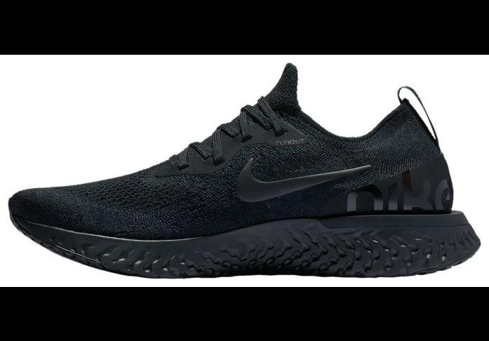 Nike Epic React Flyknit Triple Black