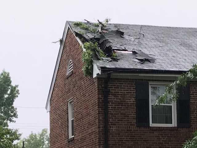 Jaime Travers On Twitter More Pictures Of Storm Damage From Today