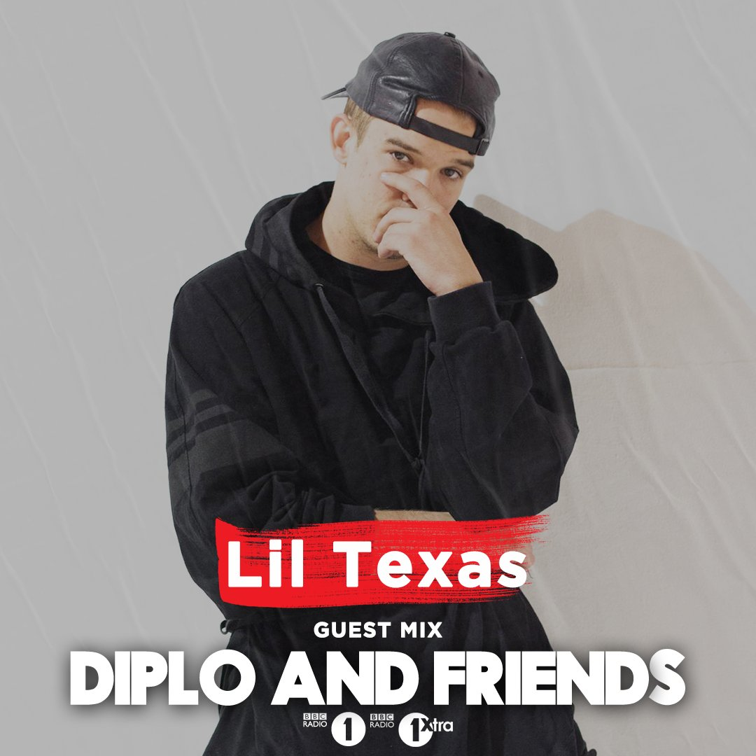 This week on @Diplo and Friends we welcome @LILTEXAS with a ton of Bassline House and Jersey Club, and @CRANKDAT showcasing everything from Hardstyle to Dubstep: https://t.co/uOecKtM710 https://t.co/W57Pm5jQ2F