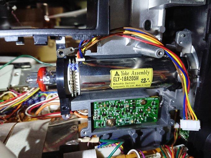 撮像管カメラの修理・改造(随時更新)