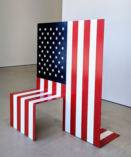 'Kneeling Flag'; Archie Scott Gobber. Haw Contemporary Gallery, Kansas City.