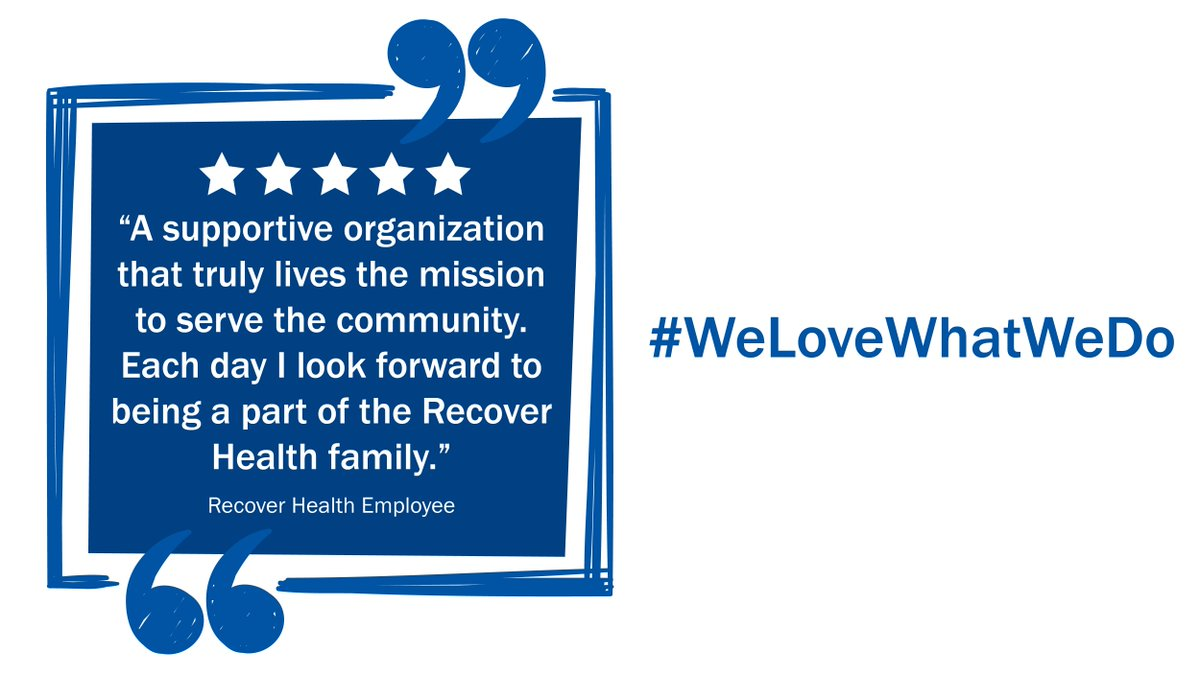 recover health on twitter we have the bestemployeesintheworld