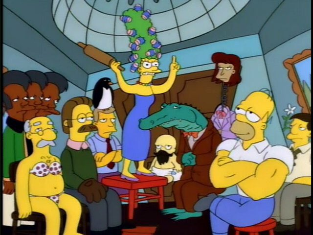 Simpsons meme g7 summit funny picture, humor, angela merkel, trump, shinzo abe, emmanuel macron