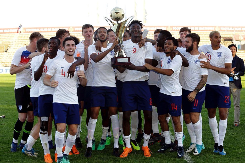Delighted to win the Toulon tournament with England! Nice to get a goal in the final too👊