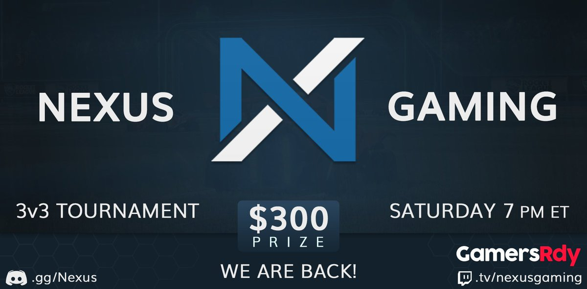 Nexus Gaming on Twitter: