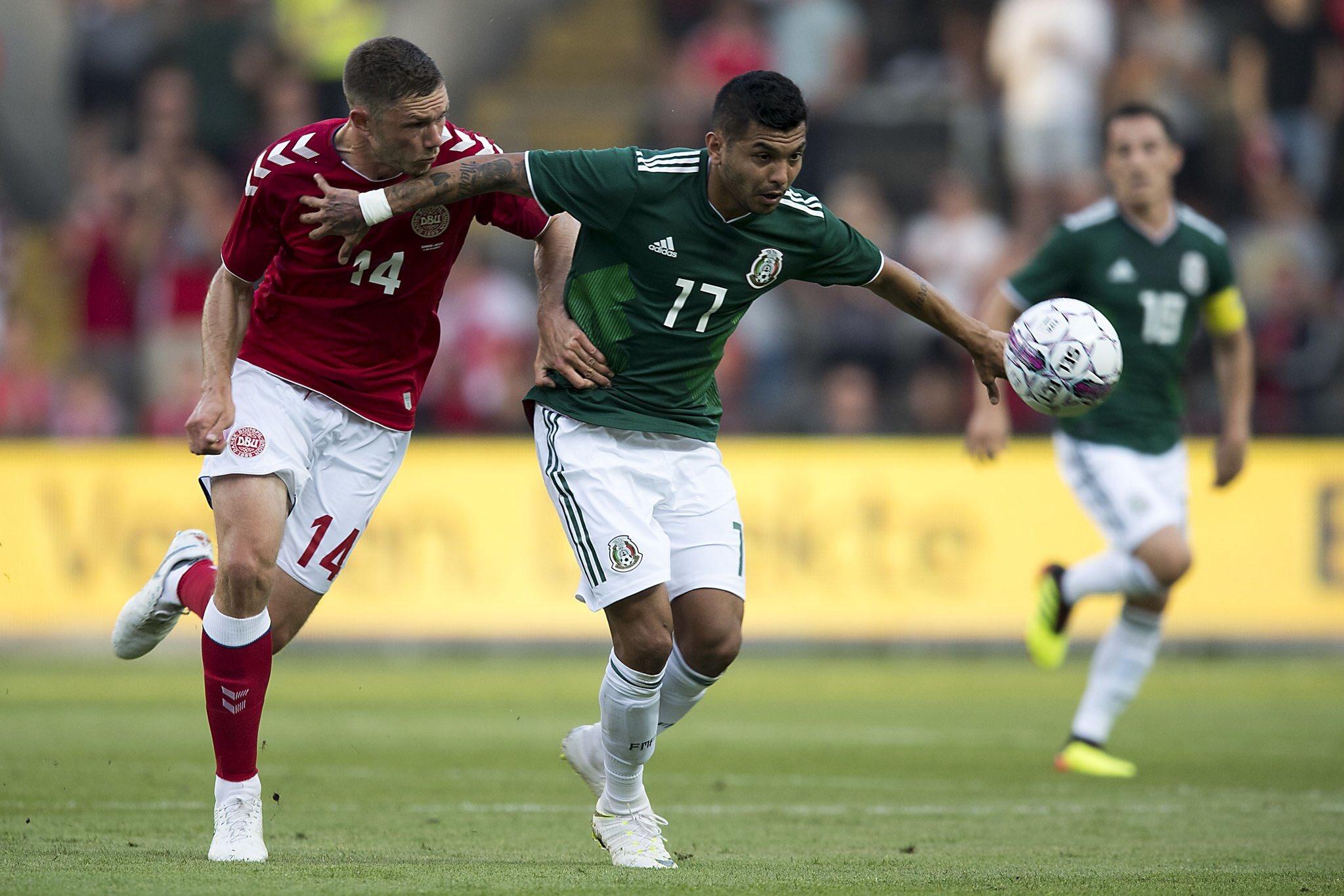 Dinamarca derroto a México 2-0 en Amistoso
