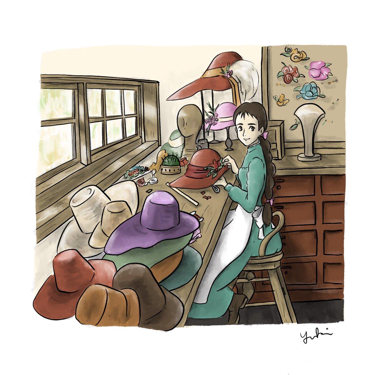 Yuki イラスト描いてる映画好きデザイナー On Twitter 帽子屋の