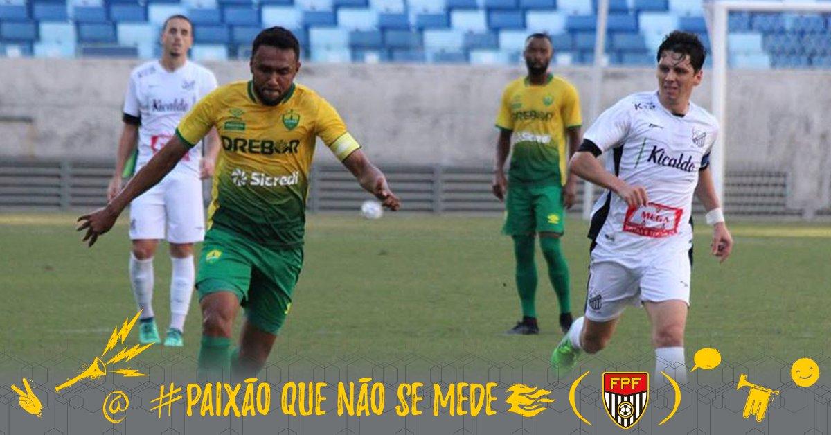 VENCEU! Jogando na Arena Pantanal, o Bragantino conseguiu os três pontos diante do Cuiabá pela #SérieC. O gol do Massa Bruta foi feito por Rafael Chorão. #FPF #FutebolPaulista #EsseÉoMeuJogo #PaixãoQueNãoSeMede 📷Divulgação/Cuiabá