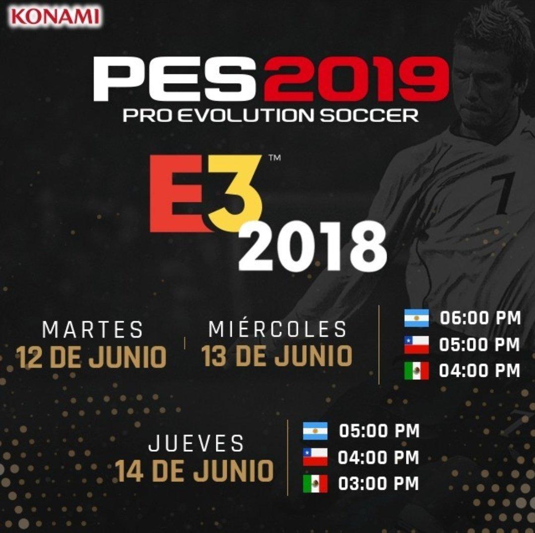 Hilo Oficial PES 2019 ya disponible!!!
