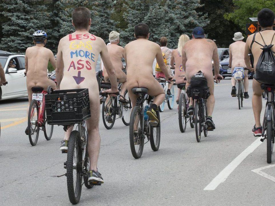 bike ride toronto Naked