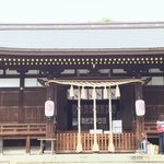 Image for the Tweet beginning: 香雪美術館の隣に、羽生結弦選手で一躍有名になった「弓弦羽神社 」があった。