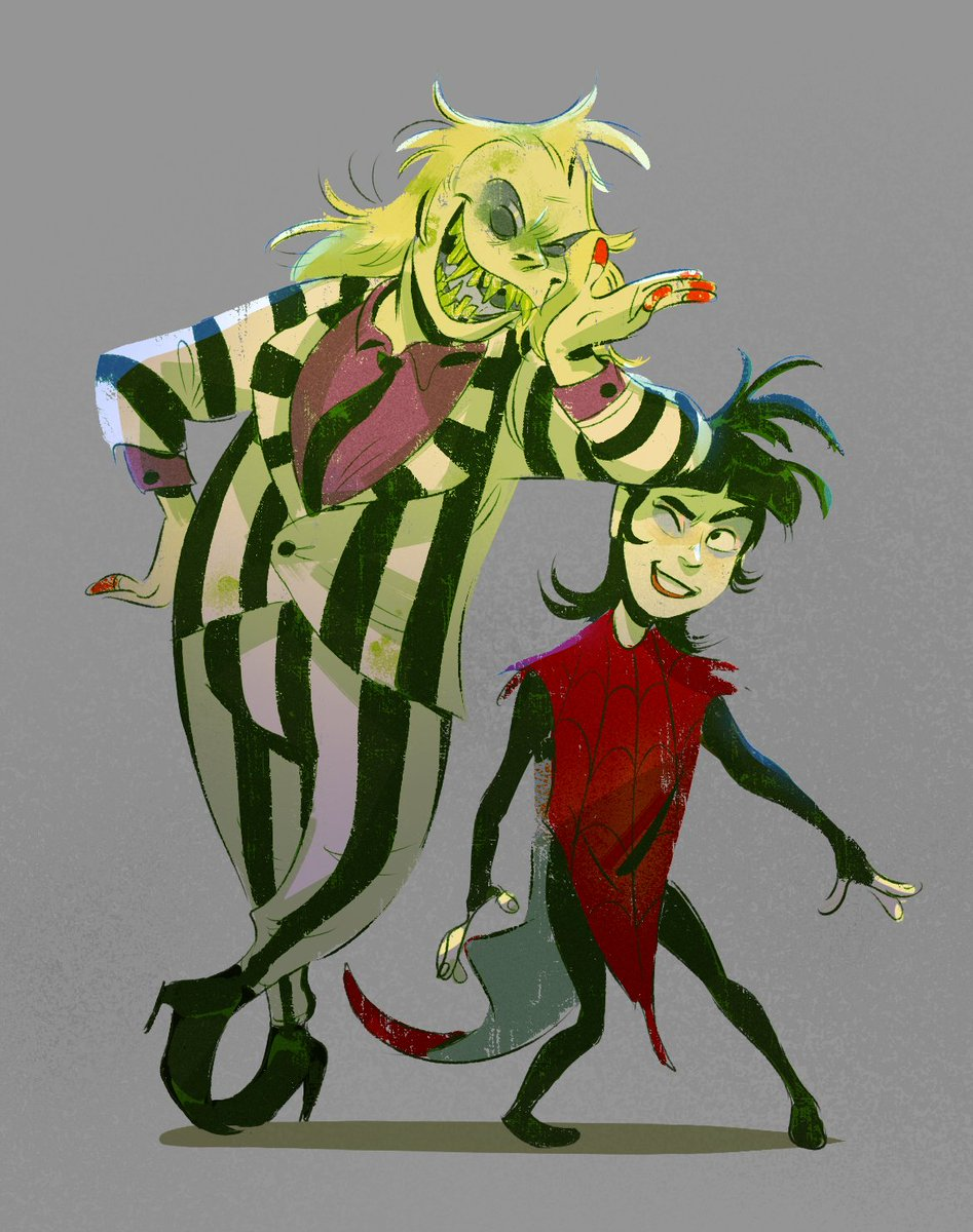 Jeannette A On Twitter Used To Love The Old Beetlejuice Cartoon As A Kid Fun Designs Fun Undead Uncle