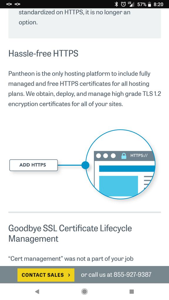 Lets Encrypt On Twitter Using Https With Getpantheon Httpst