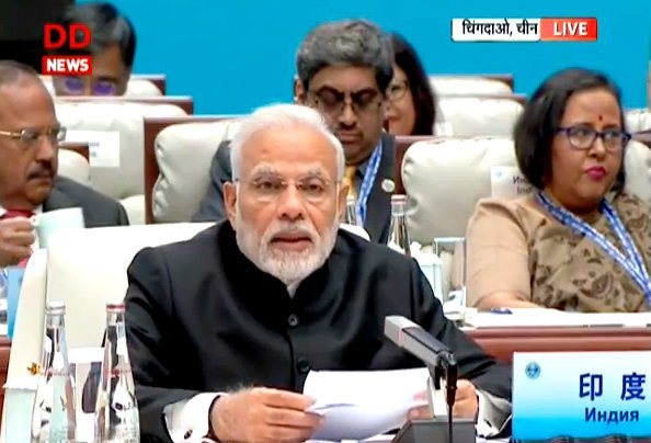 PM @narendramodi addresses Plenary Session at #SCOSummit2018  LIVE from #Qingdao, China  https:// youtu.be/nEwXvEG0eIY  &nbsp;  <br>http://pic.twitter.com/c468vP8fLl