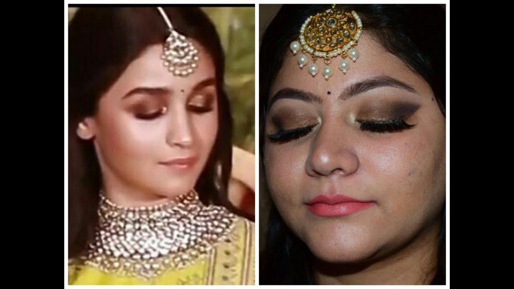 Allbeautytutorials On Twitter Check This Alia Bhatt Inspired Makeup Look Sonam Kapoor Wedding Reception Https T Co Wdh625wraj
