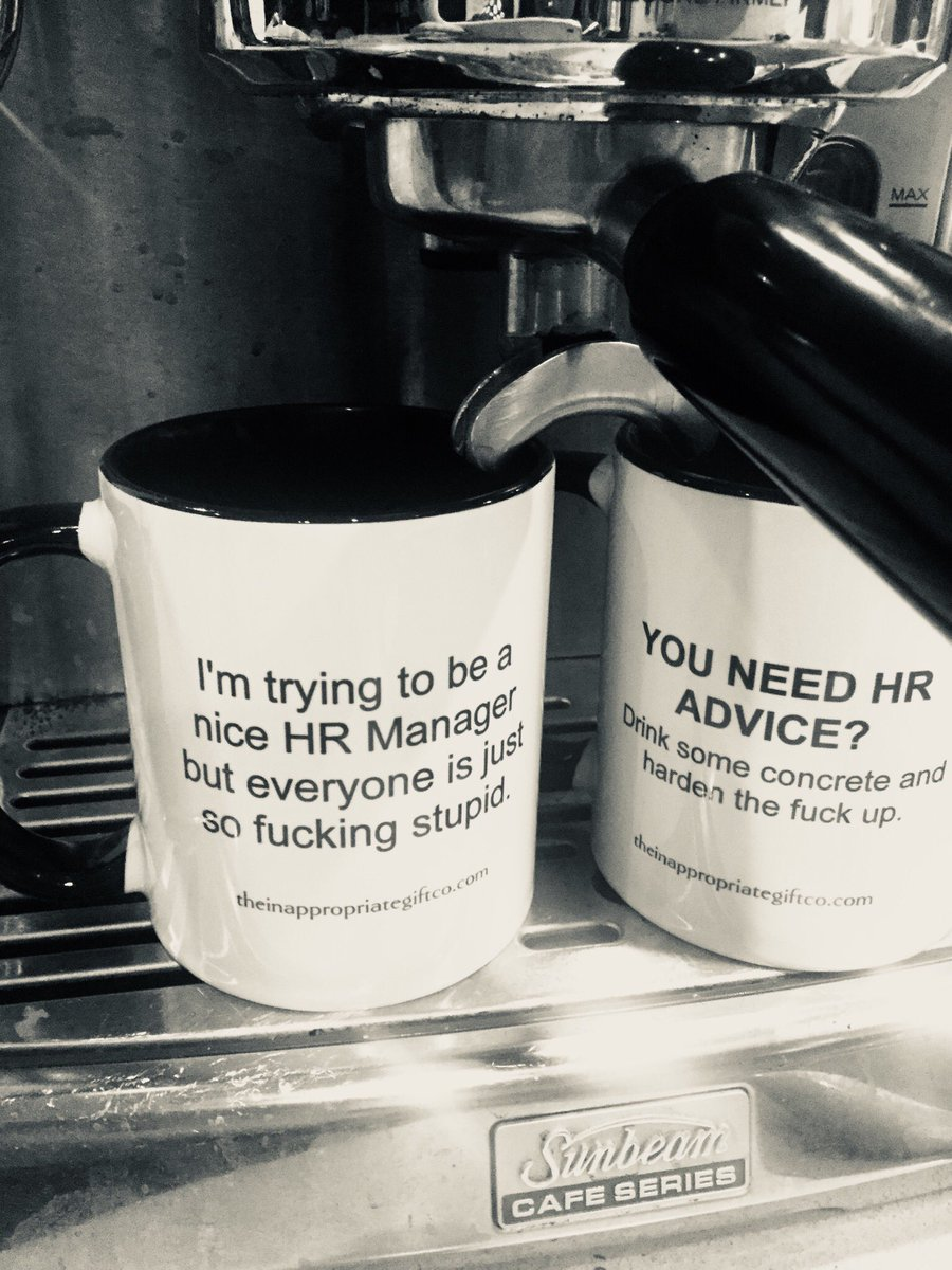 the inappropriate gift co on twitter essential mugs for any hr