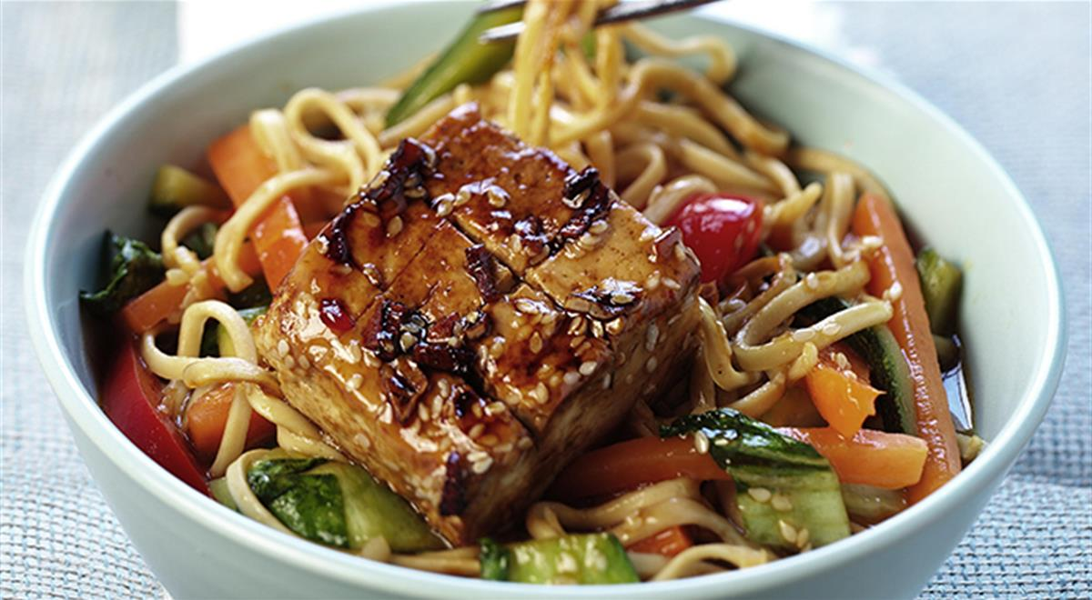 Noodles with Vegetables and Marinated Tofu https://t.co/80HudALxsr https://t.co/piJq2H6fNW