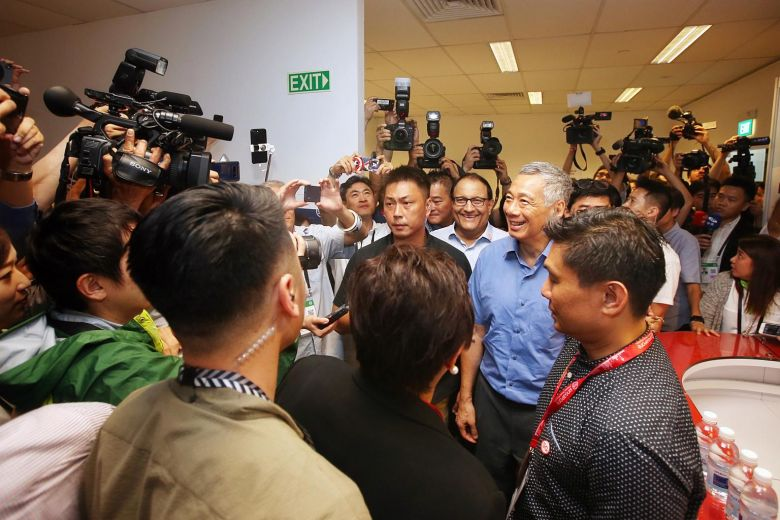 Singapore hopes Trump-Kim summit will set things on a constructive path, but resolving Korean Peninsula conflict will be a long process, says PM Lee str.sg/oY2p