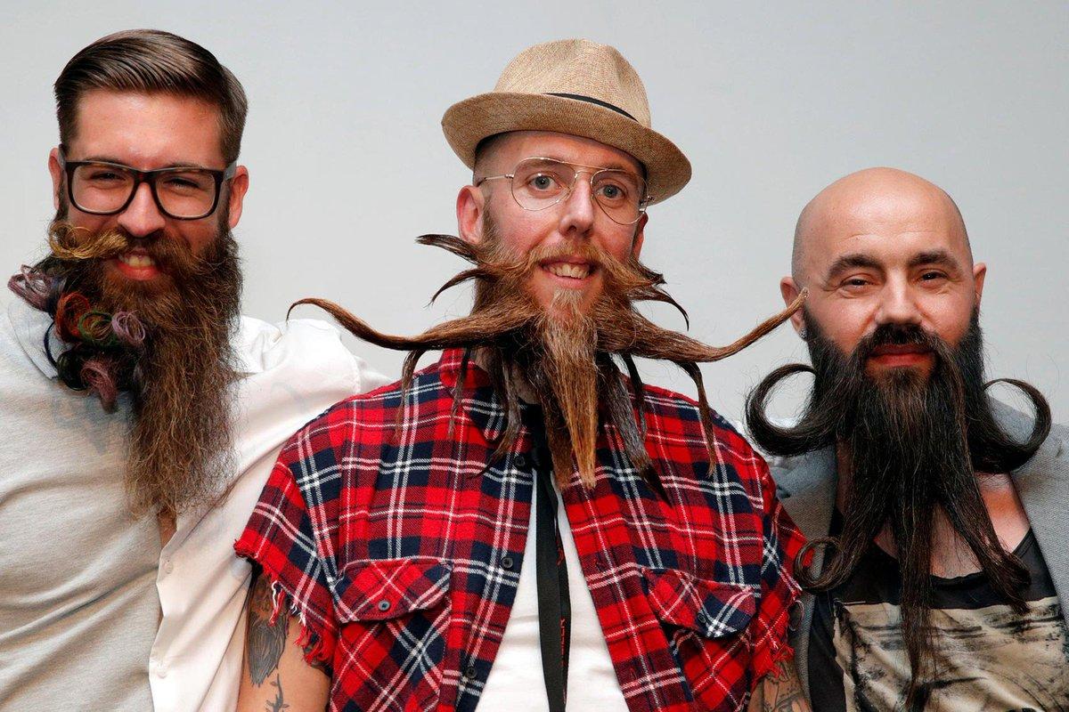 França tem campeonato de barbas; veja fotos: https://t.co/fBzT6nHT1n #PlanetaBizarro #G1