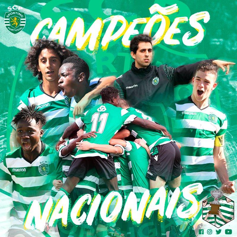 CAMPEÕES!!!!! OS INICIADOS DO SPORTING CLUBE DE PORTUGAL SÃO OS NOVOS CAMPEÕES NACIONAIS! 🏆  #IniciadosSCP batem o SL Benfica por 3-1