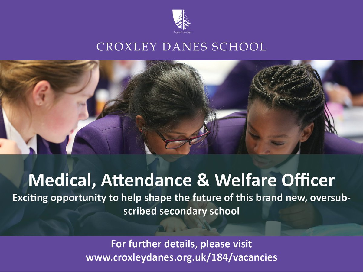 ICYMI Come and join the team! Exciting career opportunities at the school have just been advertised. Take a look: https://t.co/zMcW8tJFjo https://t.co/UlX5Tmzirx