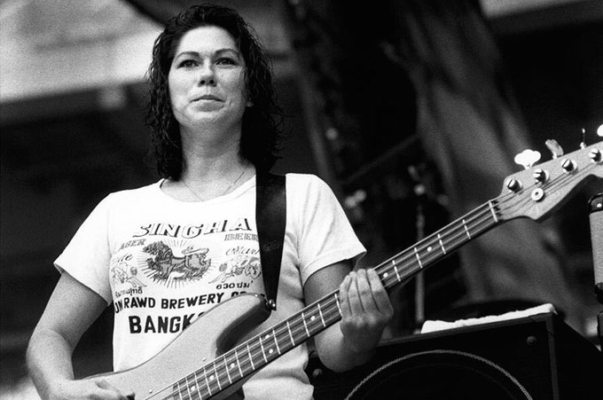 Happy birthday to Kim Deal, born on this day in 1961