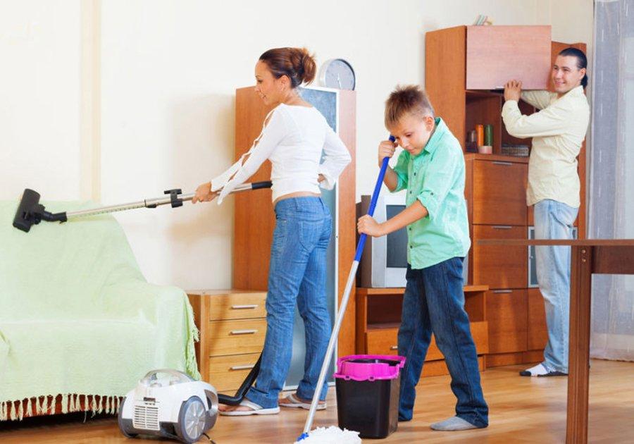 Картинки уборка в квартире для детей