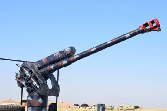 العراق يعيد للخدمه مدفعيه D-30 عيار 122 ملم محموله على الشاحنات  DfUSq7hX4AAcCf-