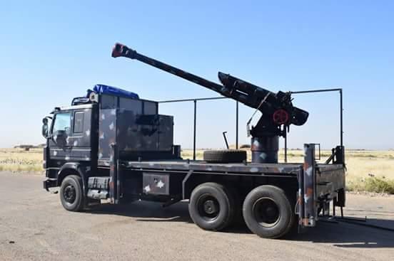 العراق يعيد للخدمه مدفعيه D-30 عيار 122 ملم محموله على الشاحنات  DfUSq7hXUAE7xHU