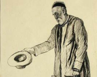"""RT @WattsGallery This month, we look at a little-known drawing by Mary Watts. 'The pen and ink drawing on paper of An Epsom Beggar (1895) was made by Mary Watts on the 30th May 1895 and was inscribed """"drawn from life by the beggar's wife""""...' Read more on our blog: https://t.co/GZzPmysTjo"""