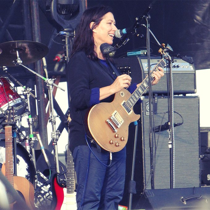 Happy birthday queen Kim Deal! Here last week with at