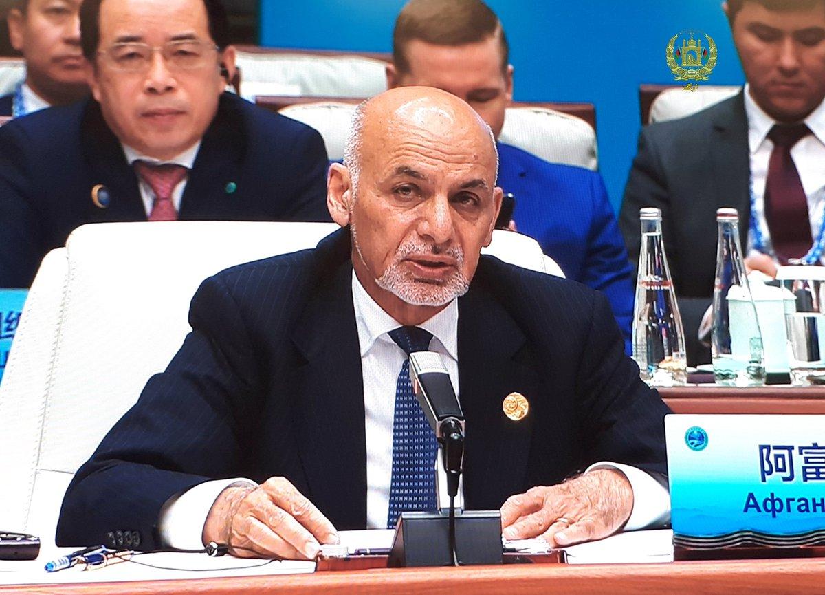 Remarks by HE President @AshrafGhani on the occasion of the Shanghai Cooperation Organization president.gov.af/en/6/10/18