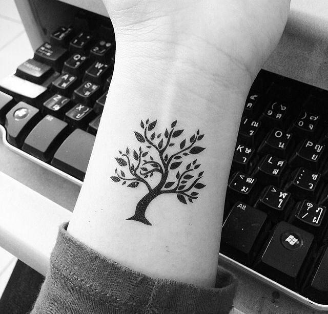 Mini Tatuajes On Twitter Arbol De La Vida Nuevo Comienzo Y Nuevas