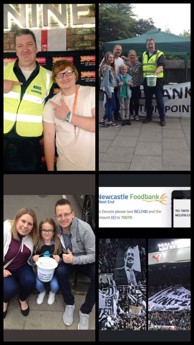 Nufc Fans Food Bank On Twitter The At Nufc Fans Foodbank