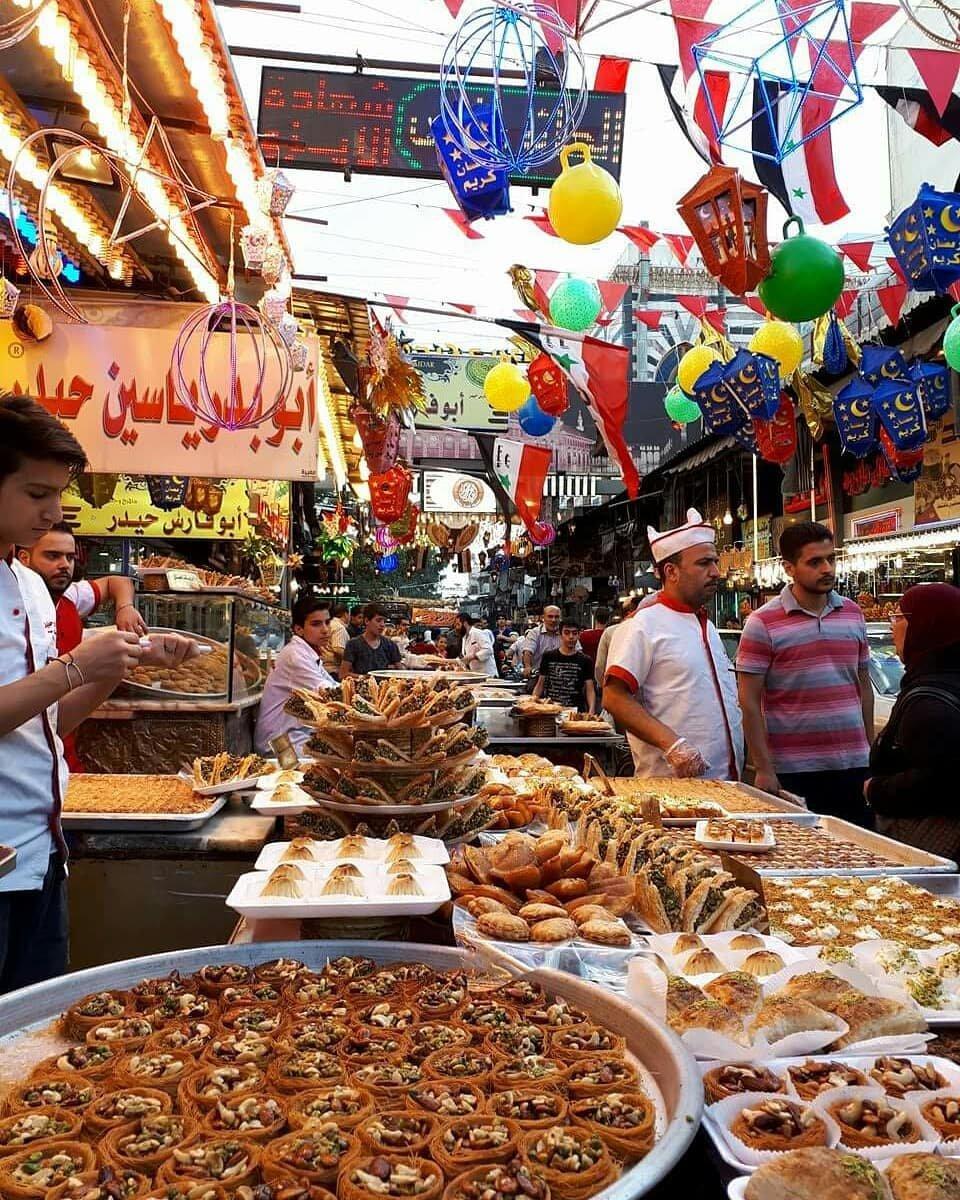 صور رمضان في سوريا