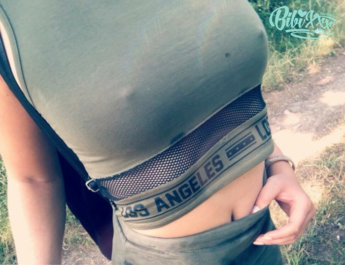 BH´s werden meiner Meinung nach total überbewertet oder? :) :D #nobra #summer #sexy #fahrradtourimmonirock