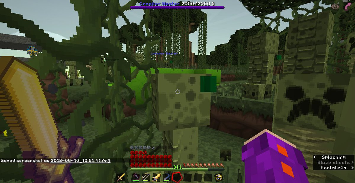 So creeper mating season on @VoxMC is getting intense. 0-0