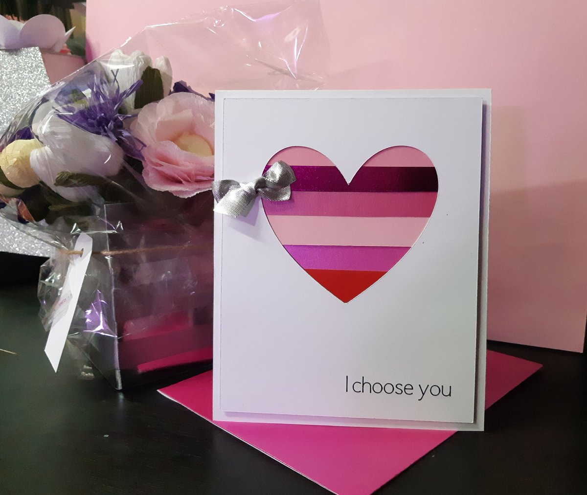 Crafted By Neneh On Twitter Handmade Love Greeting Card Handmade
