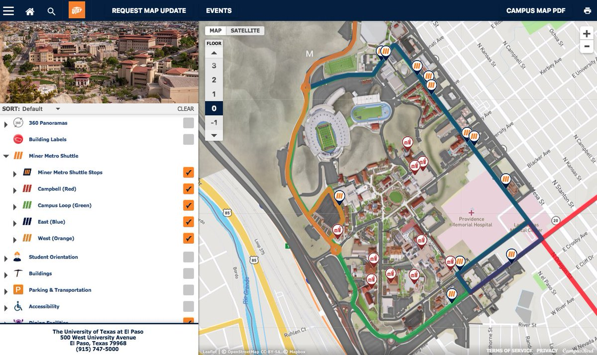 Campus Map Utep.Utep On Twitter Summer Session I Starts Tomorrow June 11 View