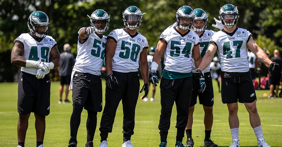 LB Crew.  #FlyEaglesFly https://t.co/SOWsIUgkQX