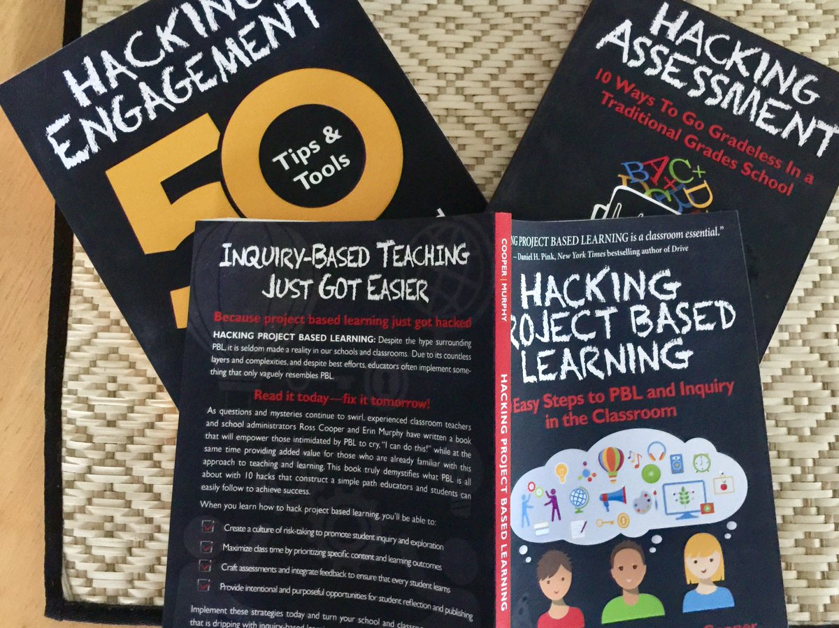 What are you reading? #Hacklearning #PBL #studentengagement