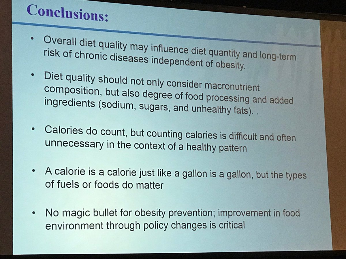 Hu's conclusions at #Nutrition2018 https://t.co/V8S6Dz4wfD